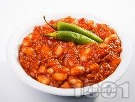 Чили кон карне -  мексиканско ястие с кайма, боб и домати